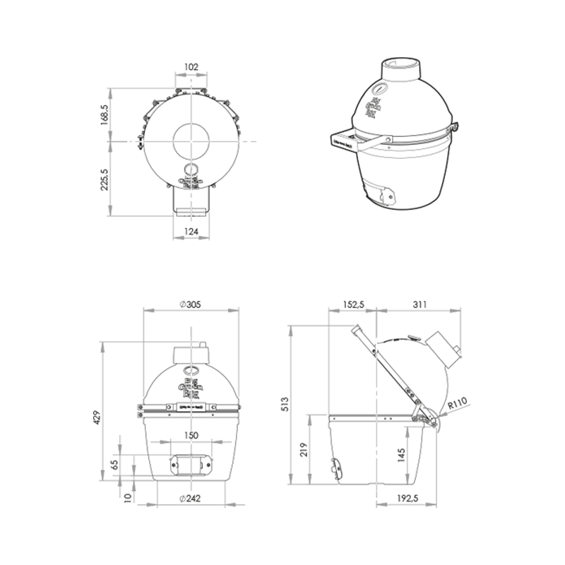Four Multifonctions - Format Mini