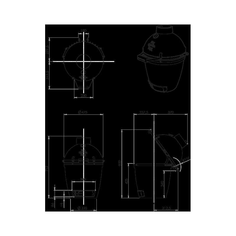 Medium - Pack Original Table Modulaire