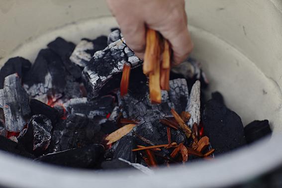 paves saumon fume chauds