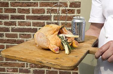 poulet fermier a la biere